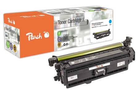 Peach  Tonermodul cyan, kompatibel zu Hersteller-ID: No. 650, CE271A c Druckerpatronen