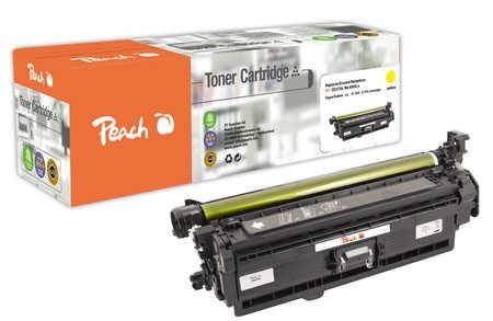 Peach  Tonermodul gelb, kompatibel zu Hersteller-ID: No. 650, CE272A y Toner