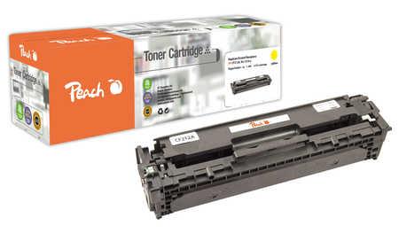 Peach  Tonermodul gelb, kompatibel zu Hersteller-ID: CF212A, HP131A Tinte
