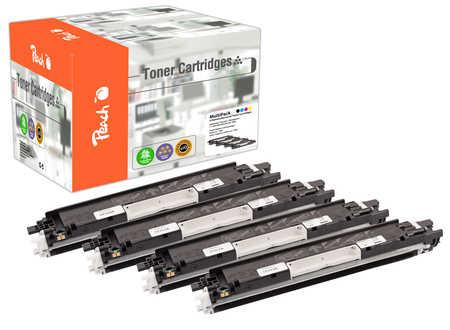 Peach  Spar Pack Tonermodule kompatibel zu Hersteller-ID: No. 126A Druckerpatronen