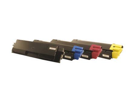 Peach  Spar Pack Tonermodule kompatibel zu Hersteller-ID: TK-580 Tinte