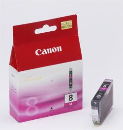 Original  Tintenpatrone magenta Hersteller-ID: CLI-8m, 0622B001 Tinte