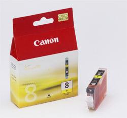 Original  Tintenpatrone gelb Hersteller-ID: CLI-8y, 0623B001 Tinte