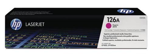 Original  Tonerpatrone magenta Hersteller-ID: No. 126A, CE313A Druckerpatronen
