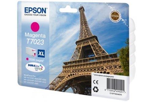 Original  Tintenpatrone XL magenta Hersteller-ID: T7023, T702340 Tinte