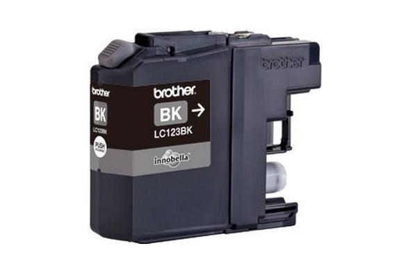Original  Tintenpatrone schwarz, Hersteller-ID: LC-123, LC-123BK Tinte