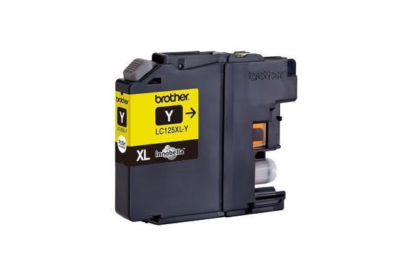 Original  Tintenpatrone gelb HY, Hersteller-ID: LC-125, LC-125XLY Druckerpatronen