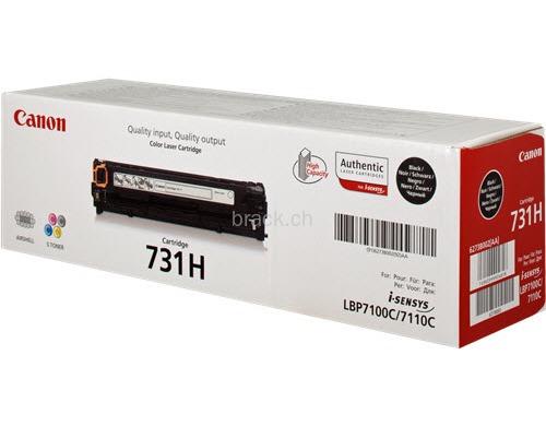 Original  Tonerpatrone schwarz XL Hersteller-ID: 6273B002, 731 Druckerpatronen