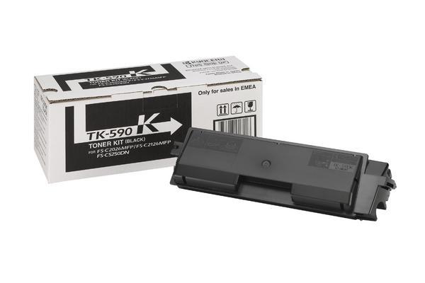Original  Tonerpatrone schwarz Hersteller-ID: TK-580K Tinte