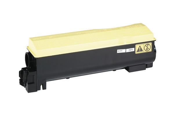 Original  Tonerpatrone gelb Hersteller-ID: TK-550Y Tinte