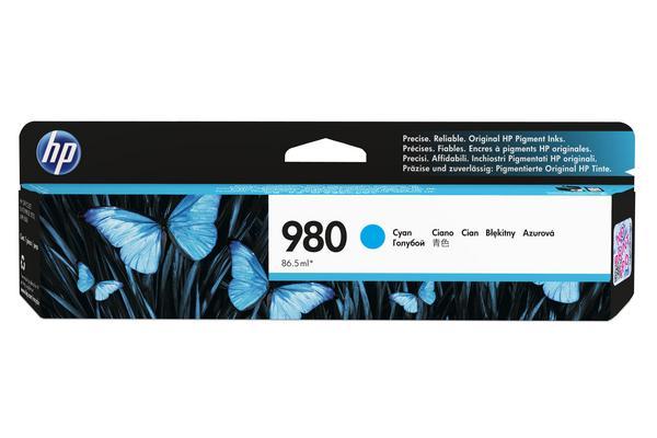 Original  Tintenpatrone cyan Hersteller-ID: No. 980, D8J07A Tinte