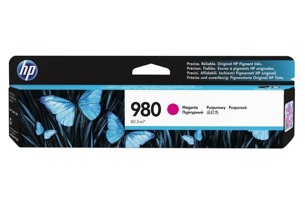 Original  Tintenpatrone magenta Hersteller-ID: No. 980, D8J08A Toner