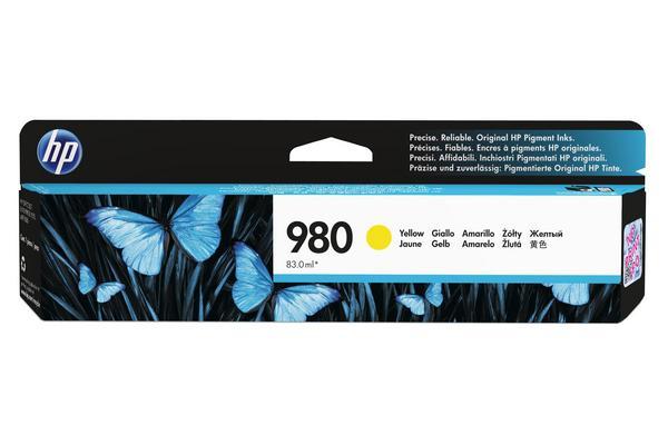 Original  Tintenpatrone gelb Hersteller-ID: No. 980, D8J09A Toner
