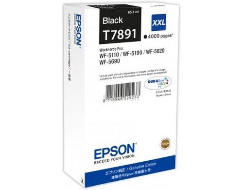 Original  Tintenpatrone XXL schwarz Hersteller-ID: T789140 Tinte