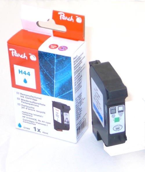 Peach  Druckkopf cyan kompatibel zu Hersteller-ID: No. 44, 51644CE Tinte
