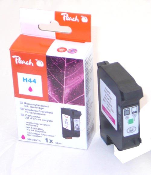 Peach  Druckkopf magenta kompatibel zu Hersteller-ID: No. 44, 51644ME Tinte