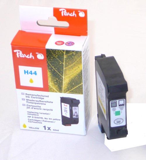 Peach  Druckkopf gelb kompatibel zu Hersteller-ID: No. 44, 51644YE Tinte
