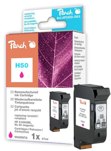 Peach  Druckkopf magenta kompatibel zu Hersteller-ID: No. 50, 51650ME Tinte