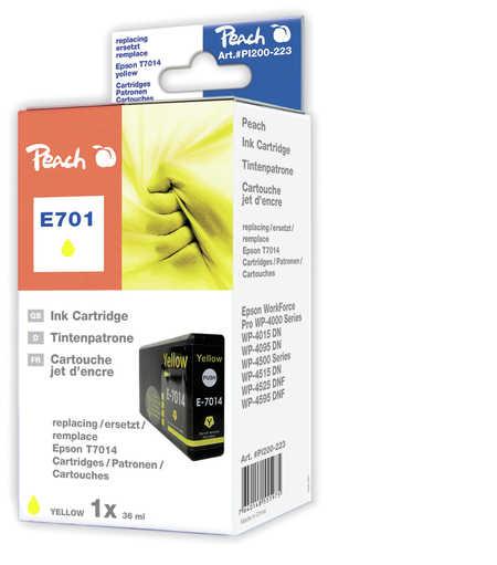 Peach  XL-Tintenpatrone gelb kompatibel zu Hersteller-ID: T7014 Druckerpatronen