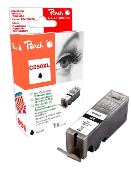 Peach  XL-Tintenpatrone schwarz kompatibel zu Hersteller-ID: PGI-550, PGI-550PGBK XL Druckerpatronen