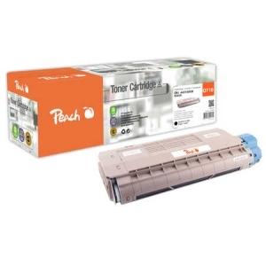 Peach  Tonermodul schwarz kompatibel zu Hersteller-ID: 44318608 Toner