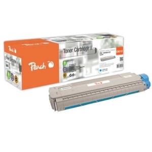Peach  Tonermodul cyan kompatibel zu Hersteller-ID: 44059107 Toner