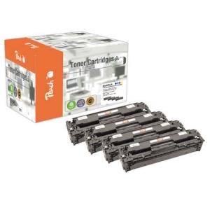 Peach  Spar Pack Tonermodule kompatibel zu Hersteller-ID: No. 125A, CB540, CB541, CB542, CB543 Tinte