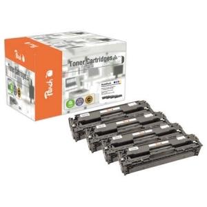 Peach  Spar Pack Tonermodule kompatibel zu Hersteller-ID: No. 305A Druckerpatronen