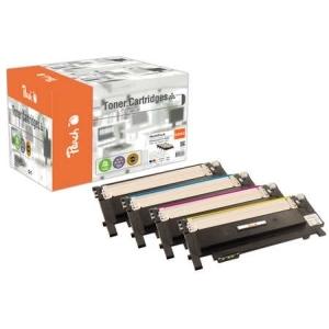 Peach  Spar Pack Tonermodule kompatibel zu Hersteller-ID: CLT-4092 Toner