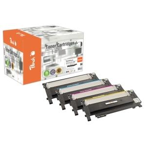 Peach  Spar Pack Tonermodule kompatibel zu Hersteller-ID: CLT-406S-series Toner