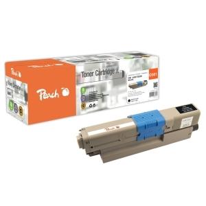 Peach  Tonermodul schwarz kompatibel zu Hersteller-ID: 44973536 Toner