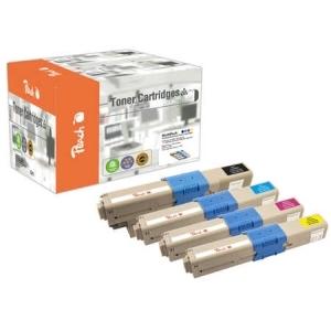 Peach  Spar Pack Tonermodule kompatibel zu Hersteller-ID: 44973533-6 Druckerpatronen