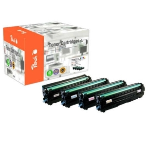 Peach  Spar Pack Tonermodule kompatibel zu Hersteller-ID: CLT-504S Toner