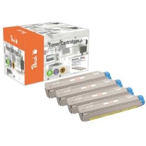 Peach  Spar Pack Tonermodule kompatibel zu Hersteller-ID: 821-series Tinte