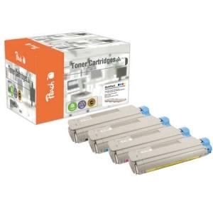 Peach  Spar Pack Tonermodule kompatibel zu Hersteller-ID: C5650-series Druckerpatronen