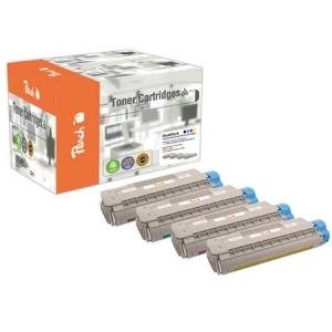 Peach  Spar Pack Tonermodule kompatibel zu Hersteller-ID: C5850-series Tinte