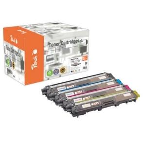 Peach  Spar Pack Tonermodule kompatibel zu Hersteller-ID: TN-241, TN-245 Tinte