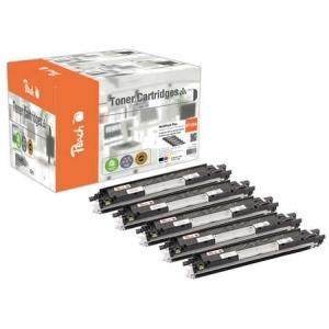 Peach  Spar Pack Plus Tonermodule kompatibel zu Hersteller-ID: No. 126A Tinte