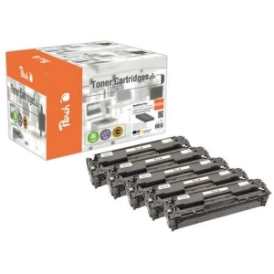 Peach  Spar Pack Plus Tonermodule kompatibel zu Hersteller-ID: No. 305A Druckerpatronen