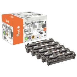 Peach  Spar Pack Plus Tonermodule kompatibel zu Hersteller-ID: No. 128A Toner