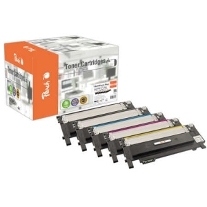 Peach  Spar Pack Plus Tonermodule kompatibel zu Hersteller-ID: CLT-406S Tinte