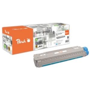Peach  Tonermodul cyan kompatibel zu Hersteller-ID: 44844507 Toner