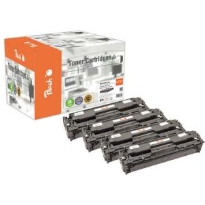 Peach  Spar Pack Tonermodule kompatibel zu Hersteller-ID: CRG-731 series Tinte