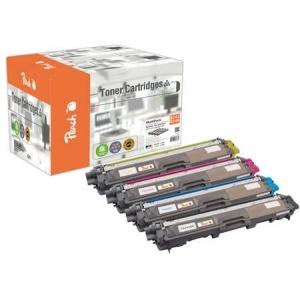 Peach  Spar Pack Tonermodule kompatibel zu Hersteller-ID: TN-242, TN-246 Druckerpatronen