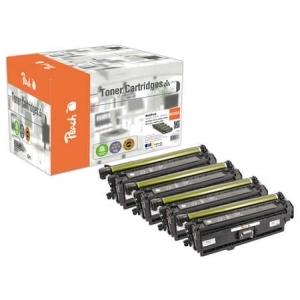 Peach  Spar Pack Tonermodule kompatibel zu Hersteller-ID: No. 508A Druckerpatronen