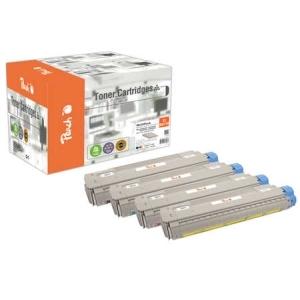 Peach  Spar Pack Tonermodule kompatibel zu Hersteller-ID: MC861-Series Druckerpatronen