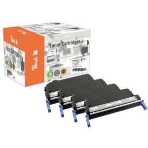 Peach  Spar Pack Tonermodule kompatibel zu Hersteller-ID: No. 643A, Q5950-3A Druckerpatronen