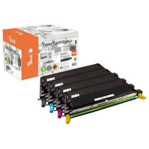 Peach  Spar Pack Tonermodule kompatibel zu Hersteller-ID: C13S051158-61 Toner