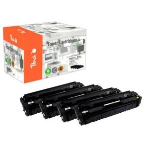 Peach  Spar Pack Tonermodule kompatibel zu Hersteller-ID: No. 201X, CF400-3X Tinte