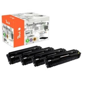 Peach  Spar Pack Tonermodule kompatibel zu Hersteller-ID: No. 201A, CF400-3A Toner